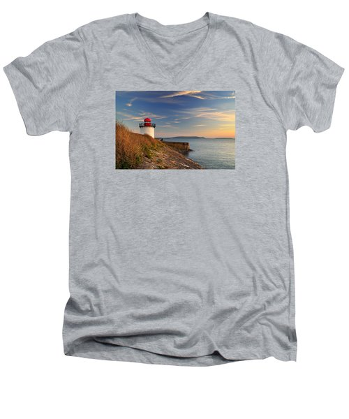 Burry Port 1 Men's V-Neck T-Shirt