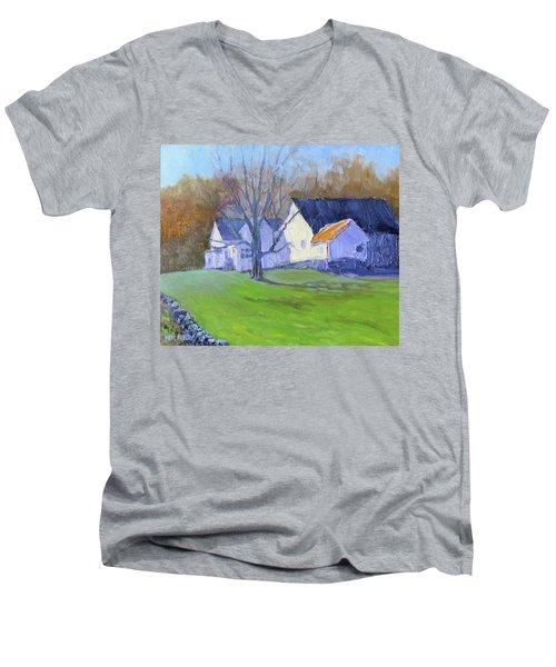 Burton Farm Men's V-Neck T-Shirt