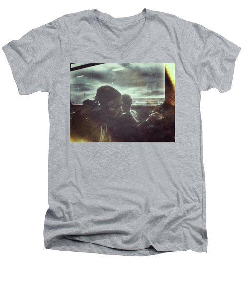 Bus Lady Men's V-Neck T-Shirt