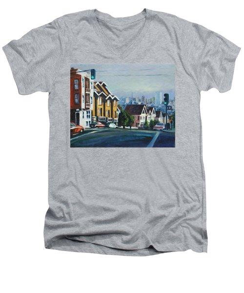 Bush Street Men's V-Neck T-Shirt
