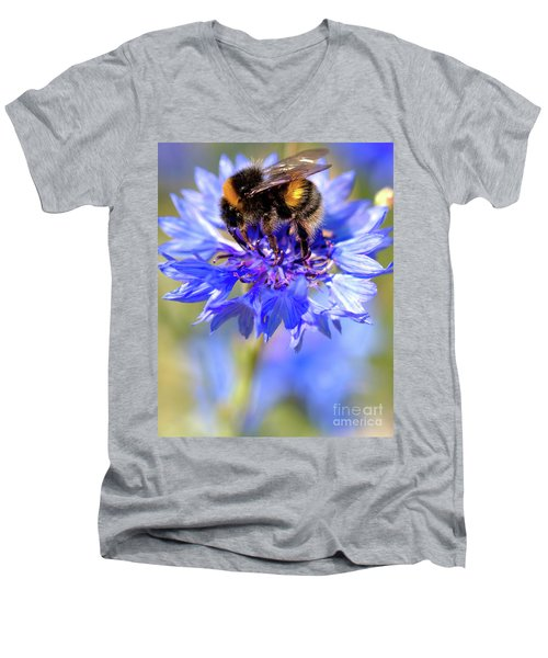 Busy Little Bee Men's V-Neck T-Shirt