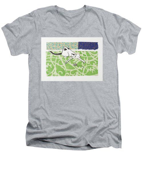 But We Were Just Starting To Have Fun Men's V-Neck T-Shirt
