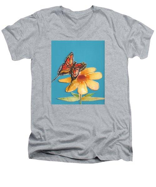 Butterflower Men's V-Neck T-Shirt