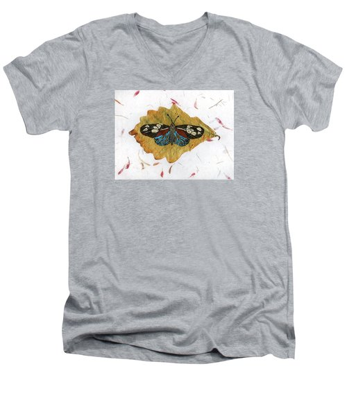 Butterfly #2 Men's V-Neck T-Shirt by Ralph Root