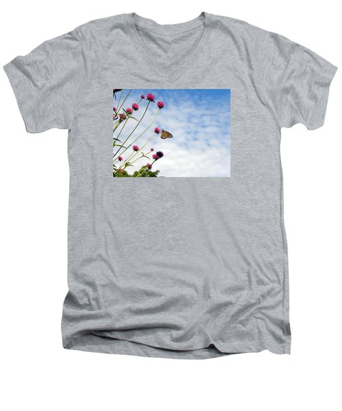 Butterfly Magic Men's V-Neck T-Shirt