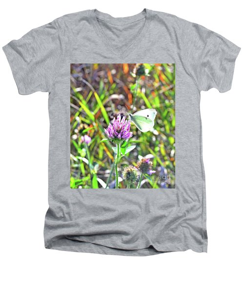 Butterfly2 Men's V-Neck T-Shirt