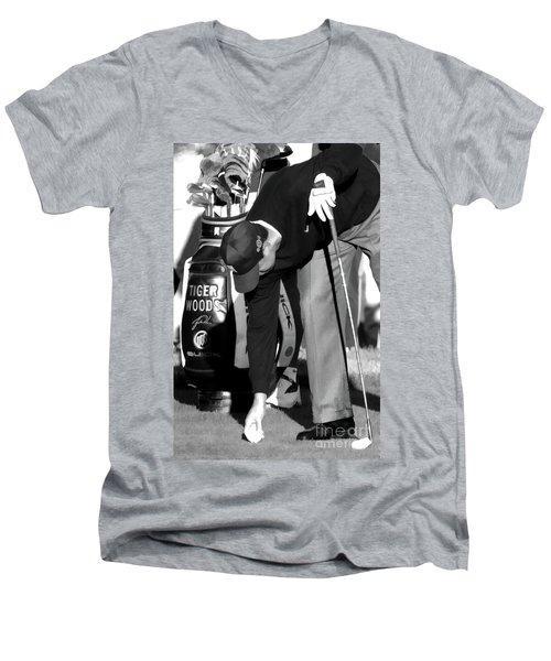 Bw Tiger Woods Tee II Men's V-Neck T-Shirt