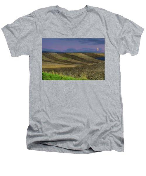 By A Different Light Men's V-Neck T-Shirt