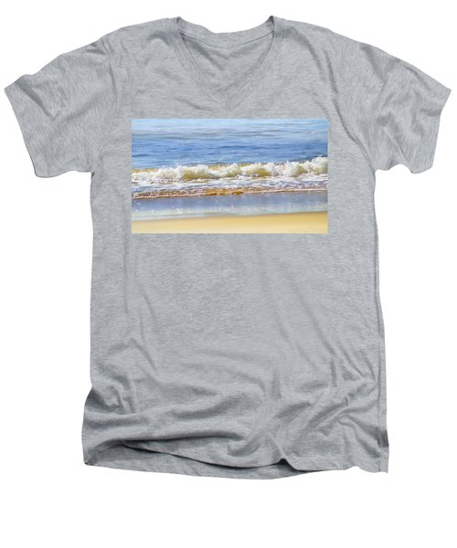 By The Coral Sea Men's V-Neck T-Shirt by Holly Kempe
