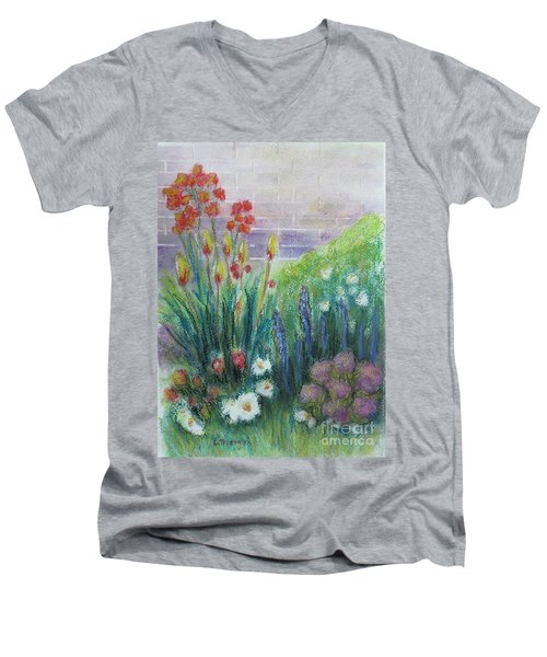 By The Garden Wall Men's V-Neck T-Shirt