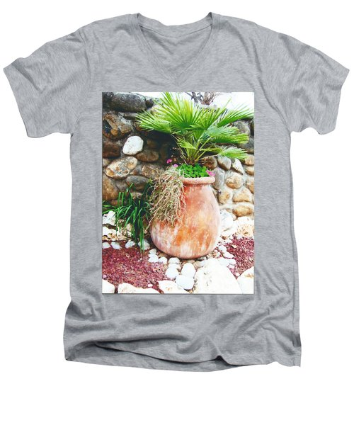 By The Roadside Men's V-Neck T-Shirt