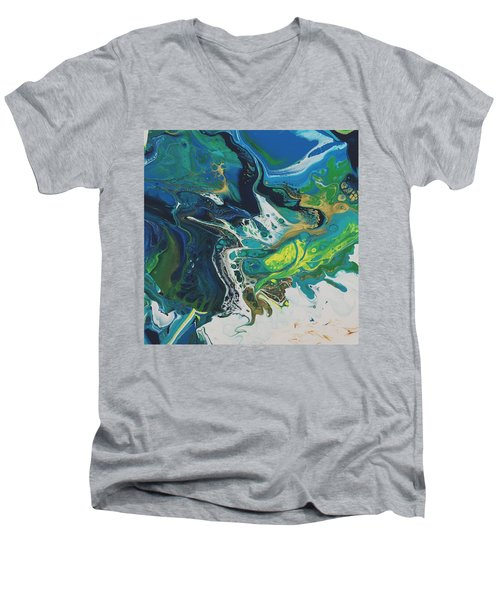 By The Seaside Men's V-Neck T-Shirt