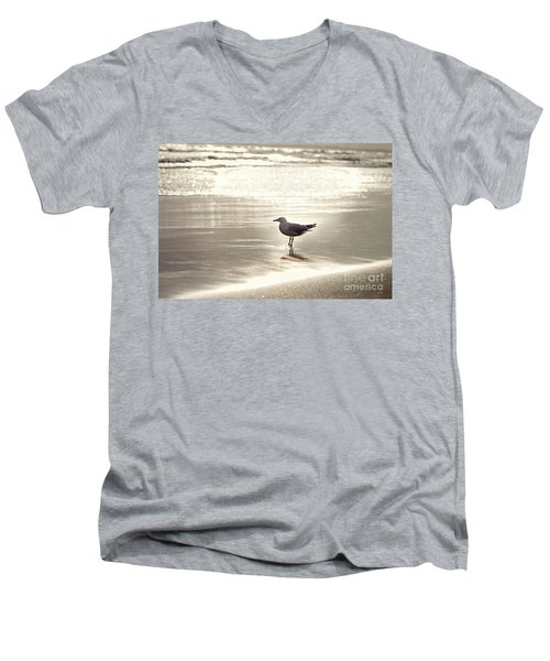 By The Sparkling Sea Men's V-Neck T-Shirt