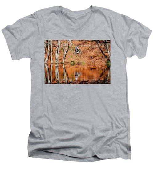 Bycyle Men's V-Neck T-Shirt