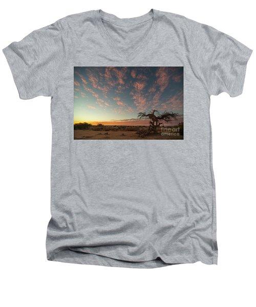 Bye Bye To Sunset Men's V-Neck T-Shirt