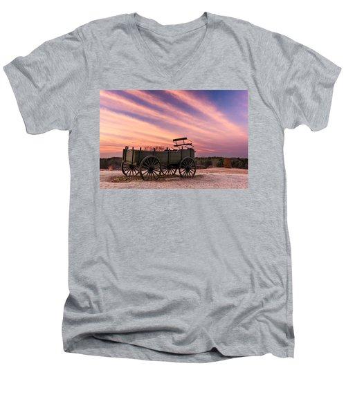 Bygone Days Men's V-Neck T-Shirt