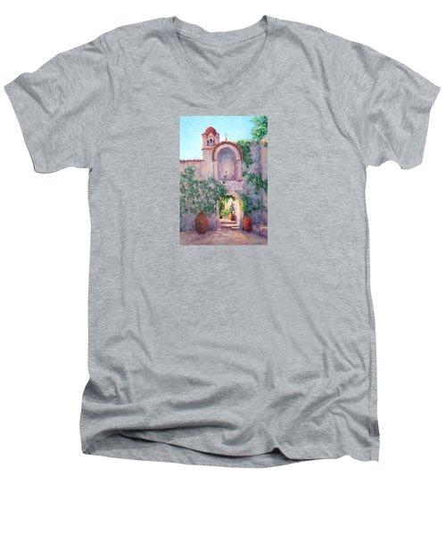 Byzantine Archway Men's V-Neck T-Shirt