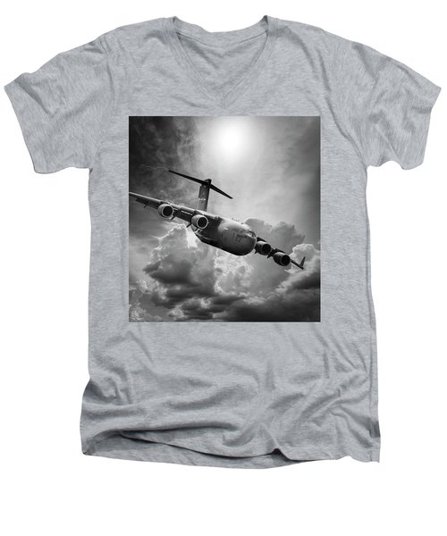 C-17 Globemaster Men's V-Neck T-Shirt