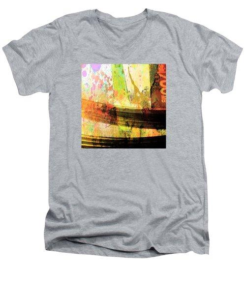 Men's V-Neck T-Shirt featuring the photograph C D Art by Bob Pardue