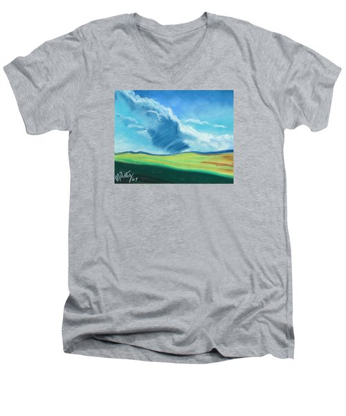 Ca Plains Men's V-Neck T-Shirt