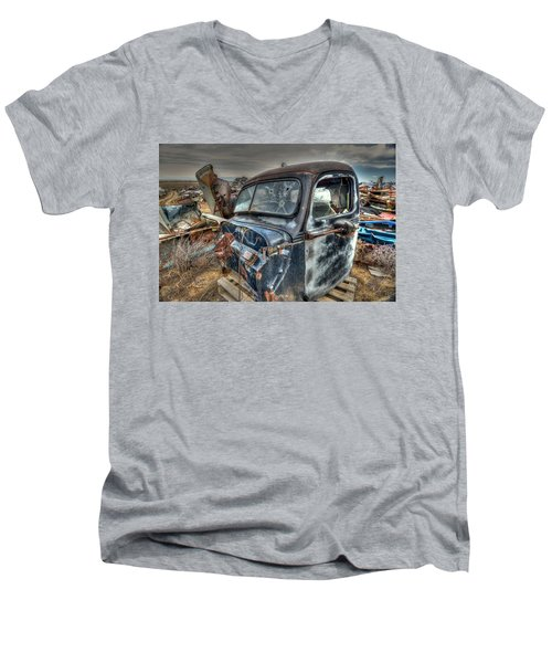 Cab Men's V-Neck T-Shirt
