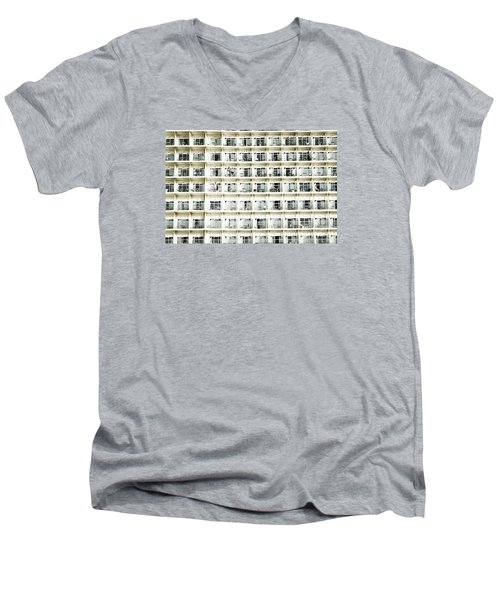 Cabins And Deck Men's V-Neck T-Shirt