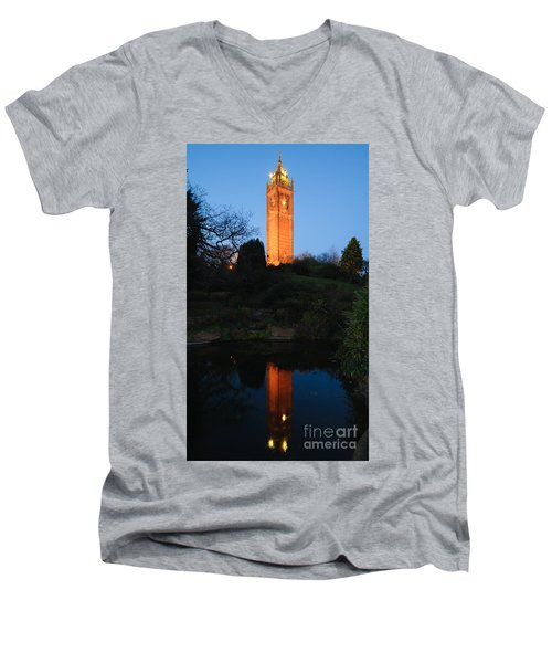 Cabot Tower, Bristol Men's V-Neck T-Shirt