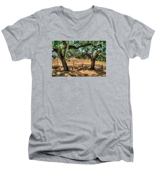 Cachagua  Men's V-Neck T-Shirt