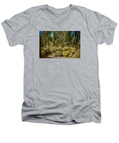 Cactus Balls Men's V-Neck T-Shirt