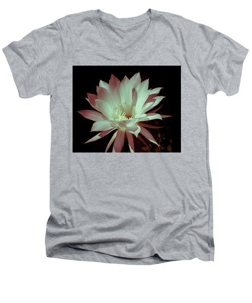 Cactus Flower Men's V-Neck T-Shirt