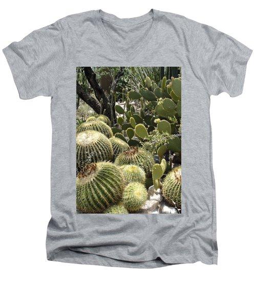 Cactus Life In Arizona Men's V-Neck T-Shirt