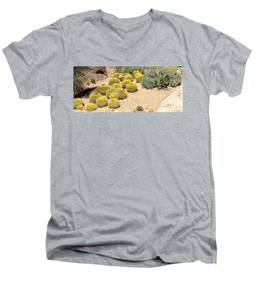 Cactus Parade Men's V-Neck T-Shirt