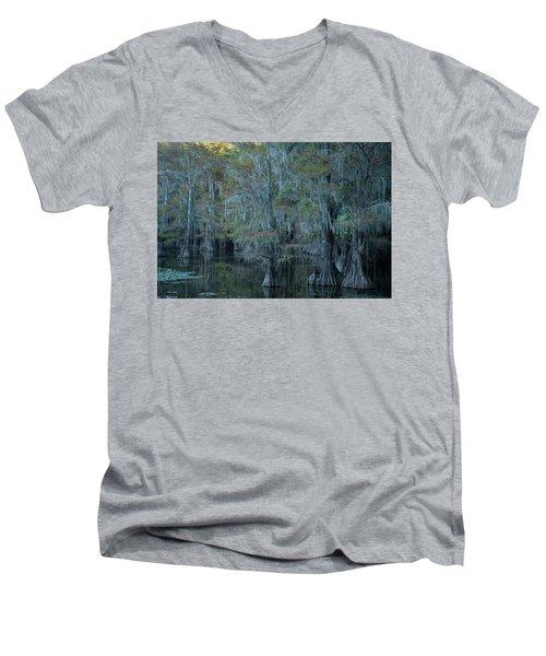 Caddo Lake #3 Men's V-Neck T-Shirt