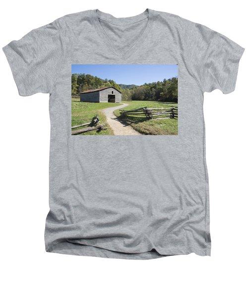 Cades Stables Men's V-Neck T-Shirt
