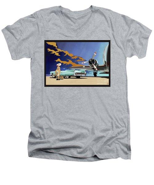 Cadillac Eldorado 1959 Men's V-Neck T-Shirt