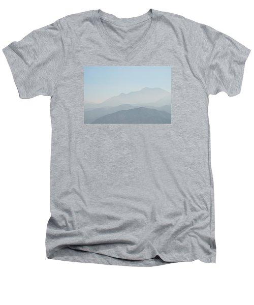 Cajon Pass Haze Men's V-Neck T-Shirt