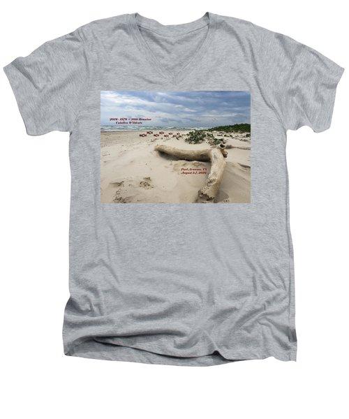 Calallen 40th Reunion - D Men's V-Neck T-Shirt by Debra Martz