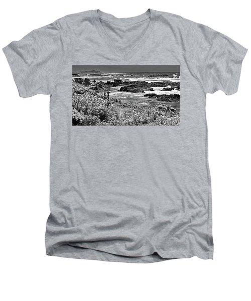 California Coast No. 9-2 Men's V-Neck T-Shirt