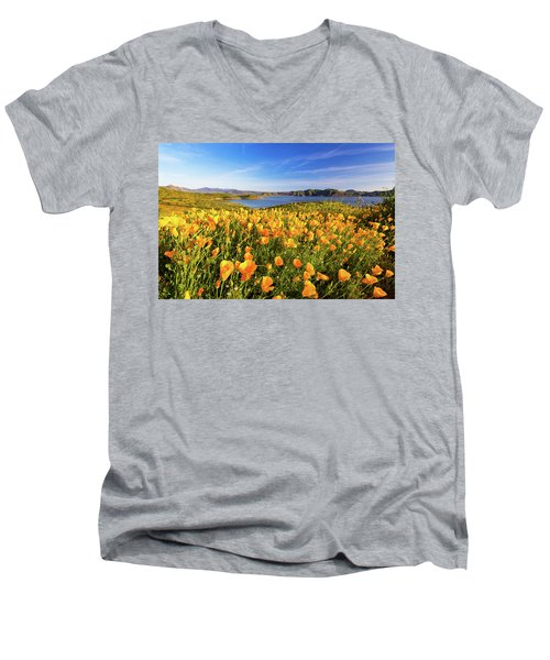 California Dreamin Men's V-Neck T-Shirt