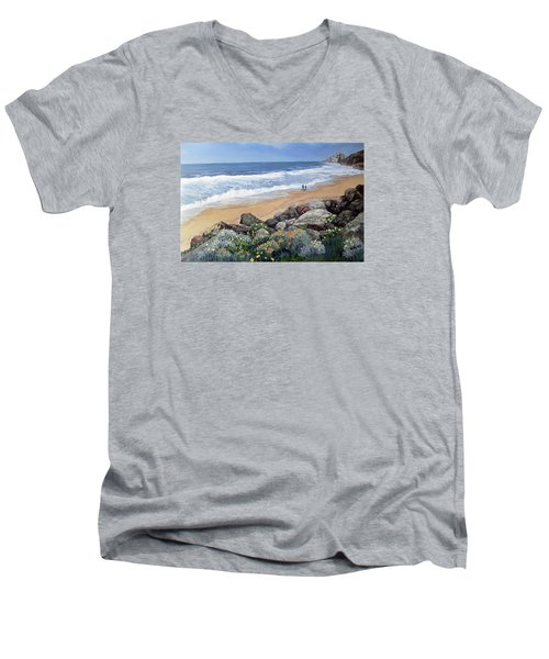 California Dreaming Men's V-Neck T-Shirt