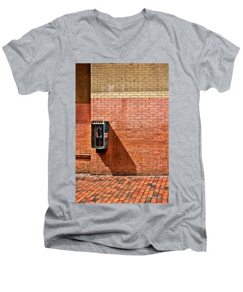 Call Me Men's V-Neck T-Shirt