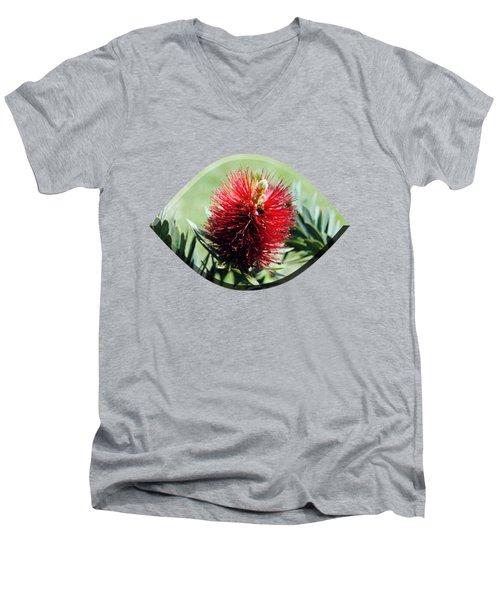 Callistemon - Bottle Brush T-shirt 7 Men's V-Neck T-Shirt
