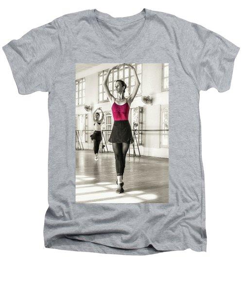 Camaguey Ballet 1 Men's V-Neck T-Shirt