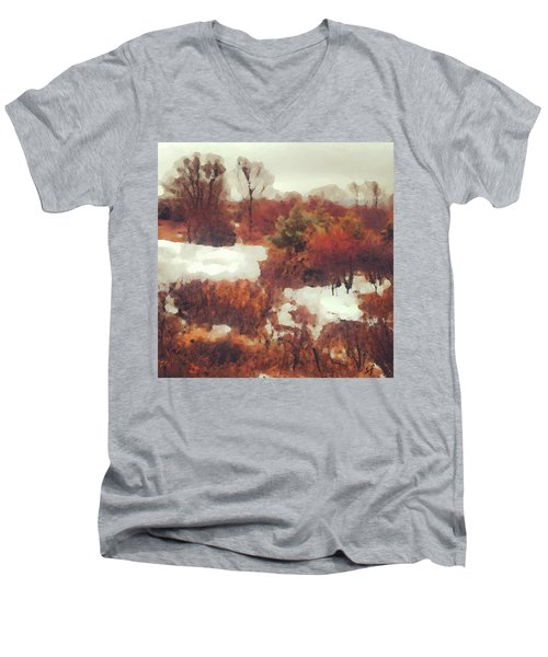 Came An Early Snow Men's V-Neck T-Shirt