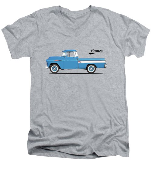Cameo Pickup 1957 Men's V-Neck T-Shirt