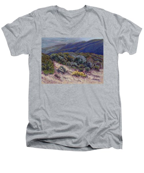 Camino Cielo View Men's V-Neck T-Shirt