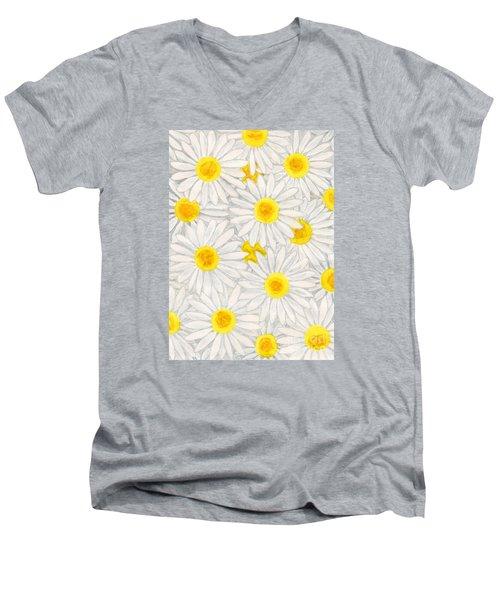 Camomiles Men's V-Neck T-Shirt