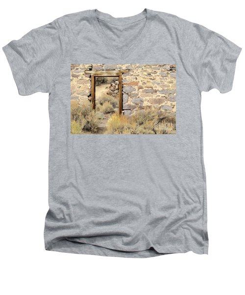 Doorway To Nowhere Men's V-Neck T-Shirt