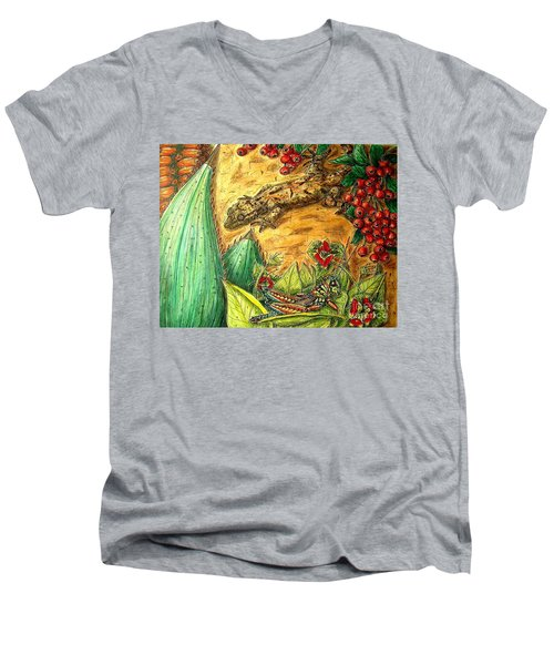 Camouflage...is It Working? Men's V-Neck T-Shirt