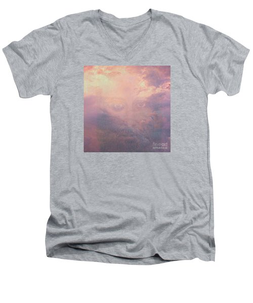 Can You See Him? Men's V-Neck T-Shirt